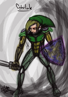 Cyber Link Painting by Hiram196