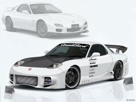 Virtual Tuning - Mazda RX 7 by Shaggy87