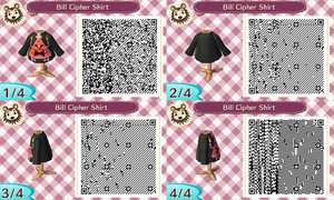 Animal Crossing New Leaf Bill Cipher Shirt by Eusong
