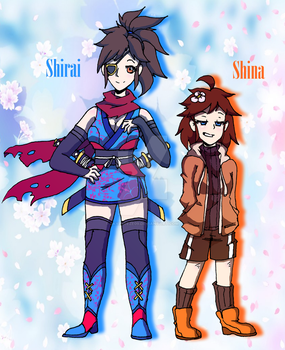 The Shi Sisters by SkyBreeze09