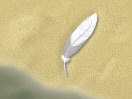 Toutie's feather on Bird's Paradise Beach by Raph-chan