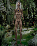 Toshia of the jungle  original created by Bandit by TheBadLieutenant
