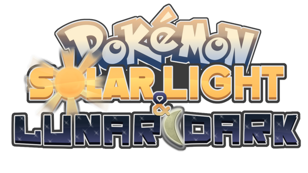 Pokemon Solar Light and Lunar Dark Logo by Chai-Tao