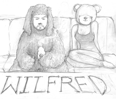wilfred and bear by thee-owl
