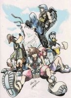 Kingdom Hearts by TifaYuy