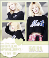 Hyuna (4MINUTE) - PHOTOPACK#01 by JeffvinyTwilight