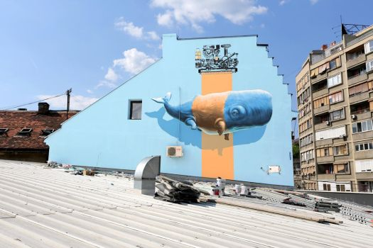 'Imitation of Life n.9' in Belgrade, Serbia by nevercrew