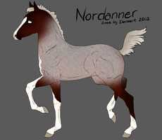 4333 Nordanner Foal by RW-Nordanners