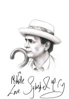 Sylvester McCoy-Seventh Doctor by Atarial