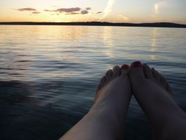 Sunset and feet by shaylee-2