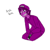 Purple Shit by AgenderedKing