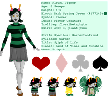 Fleuri Info Sheet by MiseryGk