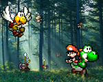 "Retro Forest ""Yoshi's Isl."" by RETROnoob"