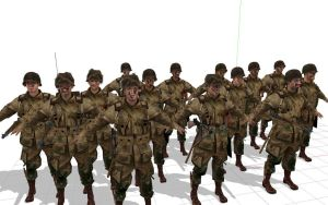 Brothers in arms for mmd by 32Rabbit