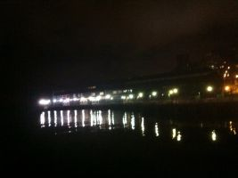 Night Time Waterfront by Scorpion31