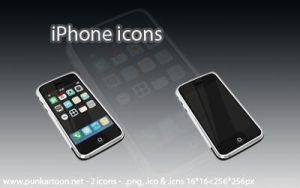 iPhone Icons by mimipunk