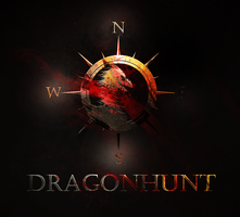 Dragonhunt Game Logo by Muse-a