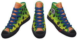 DBZ Cell Shoes by Enlightenup23