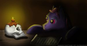 MLP Learning From the Past speedpaint by RaptorArts