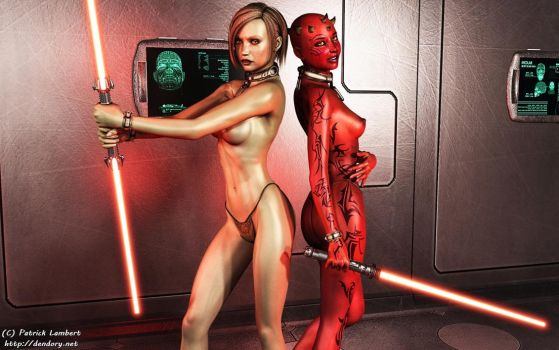 Sith duo by Dendory