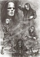 Joey Jordison Slipknot by Alleycatsgarden