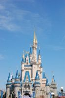 Disney World Castle by katiezstock
