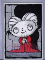 Stewie as Dracula by ElainePerna