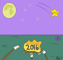 Good Riddance 2016 by TheAntTony
