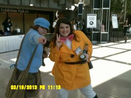 Luke and Emmy cosplay (Sakura Con 2013) by Shadow-and-Me-foreve