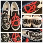Sons of anarchy Custom vans by VeryBadThing