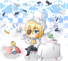 CH: Chibi Cain - Teatime by naotorii