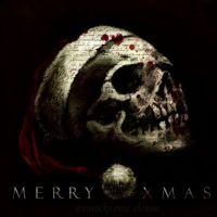 the christmas skull by Monochrome-Clown