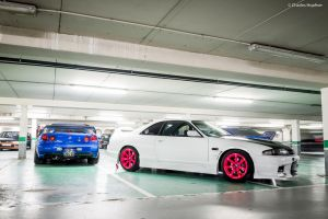 GT-R's by Charles-Hopfner