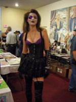 Sexy Goth Chick at Sac-Con 2012 by DearestLeader