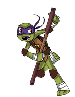 Donatello journal doll by Abn0rma1
