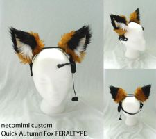 Quick Autumn Fox FERALTYPE by plushabilities