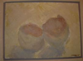 Eggs in Egg Tempera by thetani