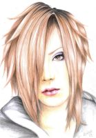 Uruha .The GazettE. by Moko-m