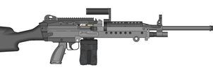 M240B NorthernDash Custom by GrimReaper64