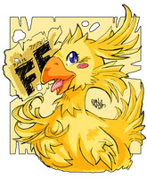 FinalFantasy Chocobo by GH07