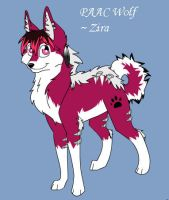 Zira the PAAC wolf by LilAngel0913