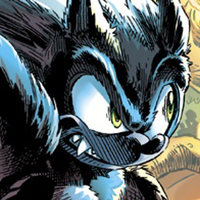 Sonic the werehog icon by hedgehognetworks