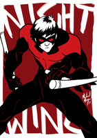 SKRATCHJAMS Nightwing by MichaelMayne