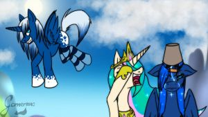 .:Some ponies want to see the moon burn:. by Gamermac