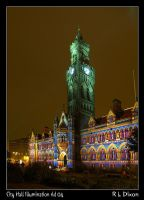 City Hall Illumination rld 04 by richardldixon