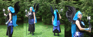 Nightmare Moon Cosplay by Drachefrau