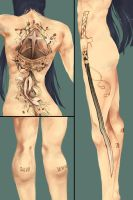 tattoos for the eyebrow queen by ItsumiK