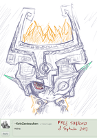 Free sketches 8 september 2013 - MIDNA by PtolemaiosLS