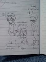 Stephano, Piggeh, and Mr. Chair by ShadowTHLover55