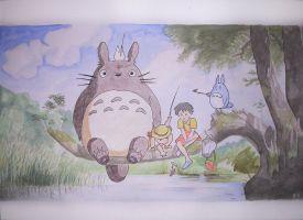 Totoro by Olivier-C